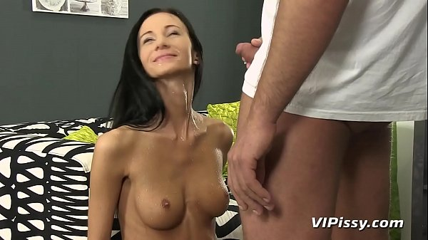 Her Holes Pissed In And Pounded