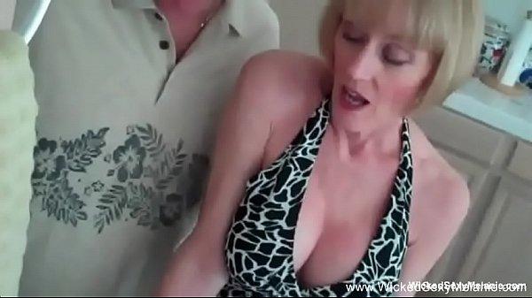 Granny Nympho Sex Threesome