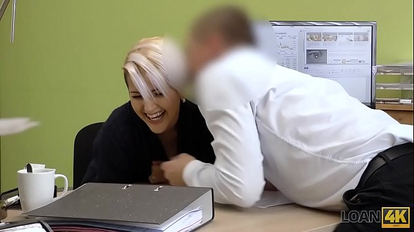 LOAN4K. Seductive lady has sex with loan agent to start her business