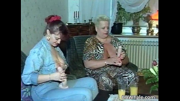Three fat sluts getting fucked during