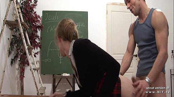 Naughty french teacher hard sodomized and fist ...