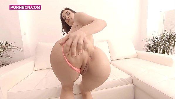 Solo masturbation with hot brunette italian pornstar with dirty talk hard orgasms and pov simulation sex, enjoy with real Valentina Bianco by PORNBCN 4k