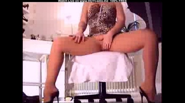 Mature Pantyhose Dildo
