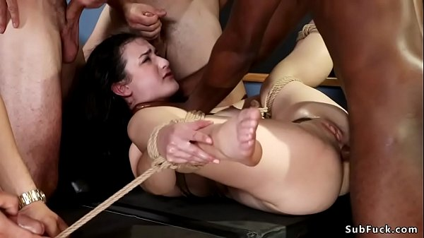 Interracial student fuck bound MILF Thumb