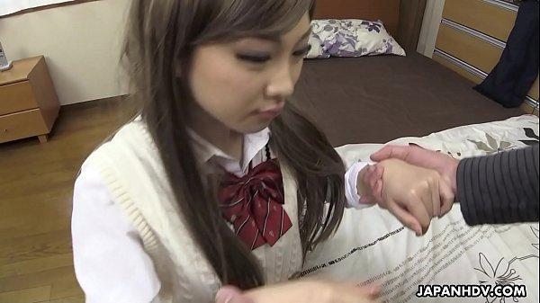 Japanese girl, Maki Horiguchi sucked dick, uncensored