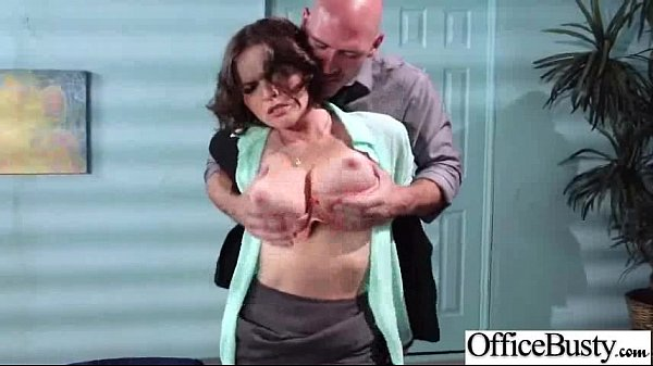 (krissy lynn) Sexy Girl With Round Big Juggs In Hardcore Sex In Office mov-22
