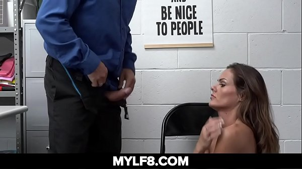 Sexy Milf Steals At Store Gets Caught And Fucked