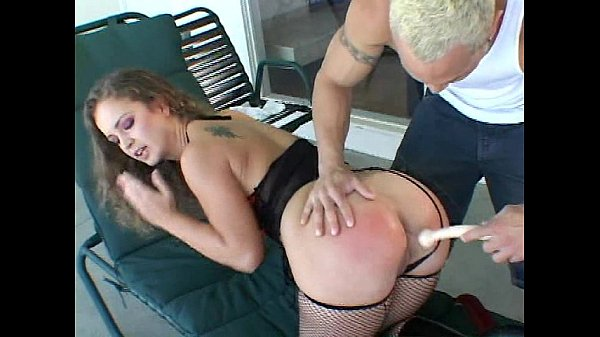Stupid hoe gets ass fucked