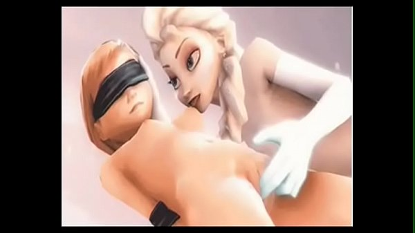 Frozen Elsa and Anna 3D Sex Compilation