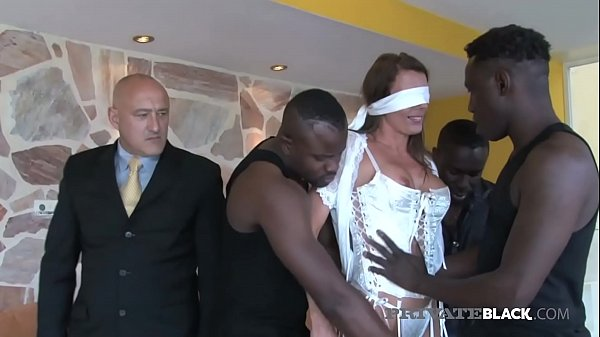 PrivateBlack - Swiss Milf Caroline Tosca Dicked by 3 BBCs! Thumb