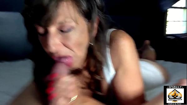 Sexy Milf Marie Closeup Oral Service