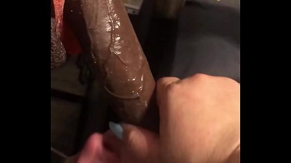 Deepthroat queen dezzy eating candy and Dick part 1