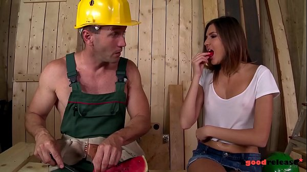 Well hung construction worker fucks the s. out of horny brunette Agness