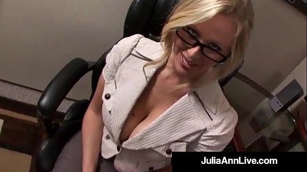 Award Winning Milf Julia Ann Gets Cum In Her Ey...