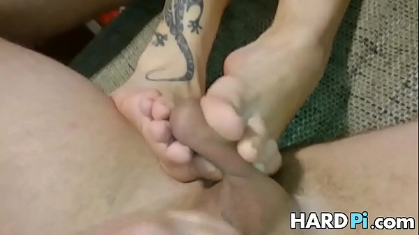 Ball trampling squezzing and cum