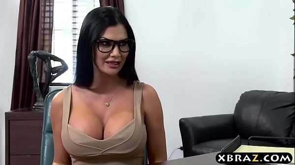 Best lawyer in town needs some busty anal convincing