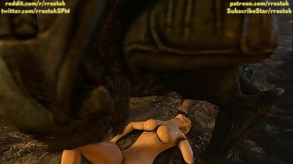 Samus Aran on a Strange Alien Planet Part 3 3D porn