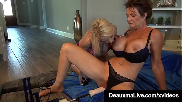 Cocky Cougars Deauxma & Savannah Steele Fuck A Dick Driller!