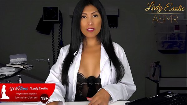 ASMR Exotic Brunette Doctor gives you a Handjob