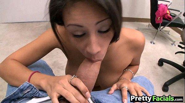 Pretty latina porno facial Jamie Valentine 1 2.3
