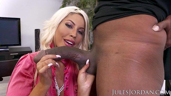 Jules Jordan - Bridgette B Big Tit MILF Gets A ...