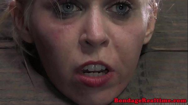 BDSM sub Sarah Jane Ceylon butt spanked