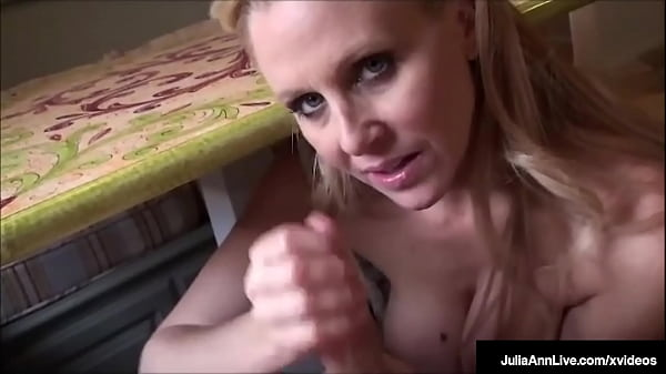 Kitchen Cunt Stuffing With Milf Julia Ann Blowing Breakfast Sausage!