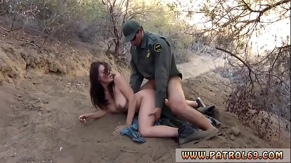 Blowjob till cum in mouth and public airplane Mexican border patrol