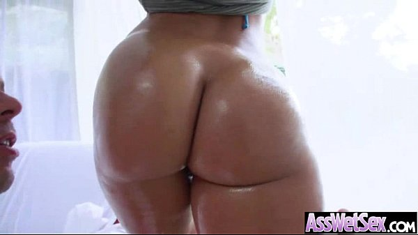 Oiled Big Butt Girl (jada stevens) Love And Enjoy Deep Anal Sex clip-09