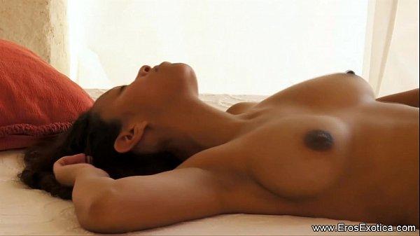 Ebony Couple Try New Sex