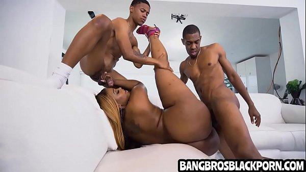 Black stepfam group sex