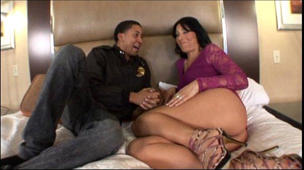 Sexy Big Booty Milf taking big black cock in Hot Milf Ass Video