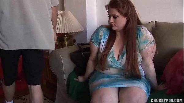 Pale redhead honey with huge boobs in lace undies gets fucked