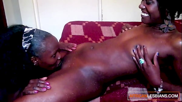 Dirty ebony lesbians in shower together