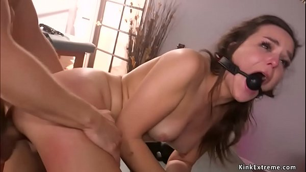 Mad bf rough fucks tied girlfriend