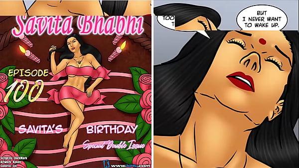 Savita Bhabhi Episode 100 - Savita's Birthday