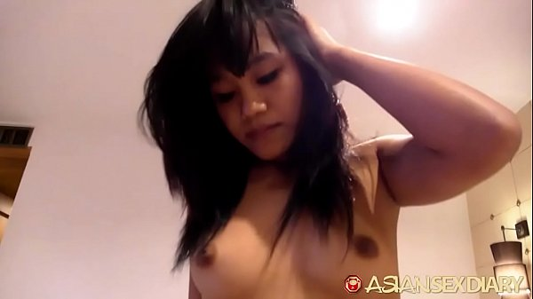 Top notch amateur Asian pussy given multiple orgasms by hard-ramming thick white cock