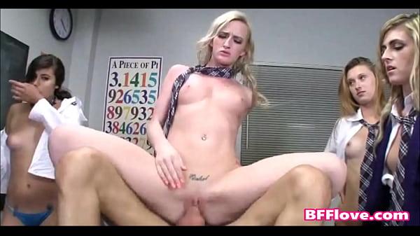 Best Friends Host Sex Ed Class And It Turns Into A Fuck Fest - BFFlove.com