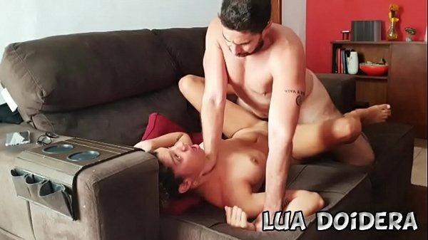 My Husband Jr Doidera fucked me hard at living room sofa and made me cum twice Thumb