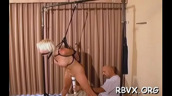 Seductive bimbo is masturbating like crazy