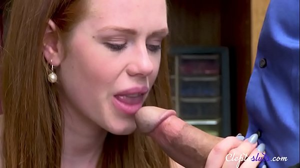 Redhead theif doesn't like to blow OLD FAG