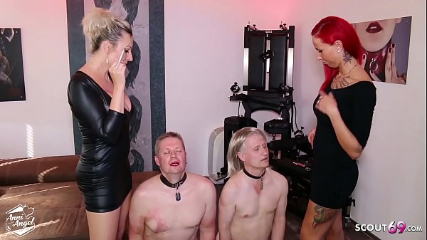 German Femdom Domination Spit and more Session ...