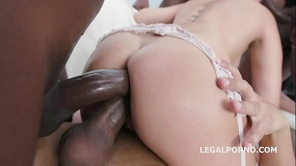 Blackbusters 5on1 with Lady Dee Balls Deep Anal...