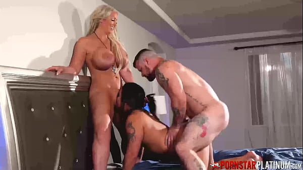 PORNSTARPLATINUM MILFs Alura Jenson And Miss Demeanor 3way Thumb