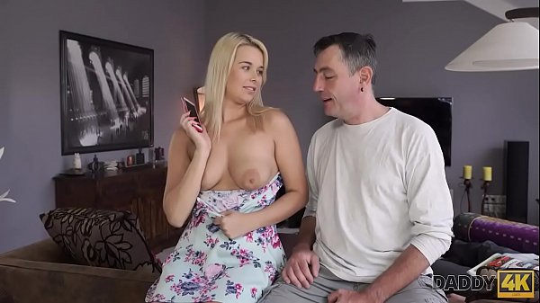 DADDY4K. Dad and young girl enjoy anal sex near his s. son