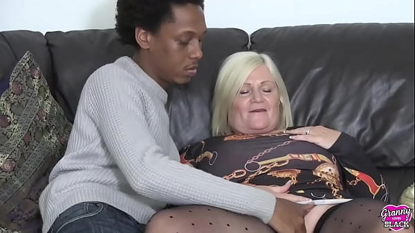 GRANNYLOVESBLACK - GILF Wants BBC In Both Holes