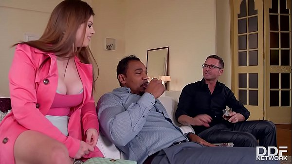 Horny As Fuck - Husband And Friend Double Penet...