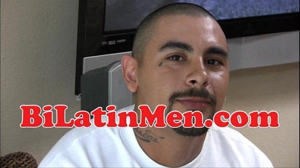 Latino Cholo Stroking His Chorizo