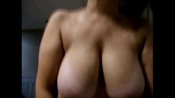 Big bouncing tits riding my cock Thumb