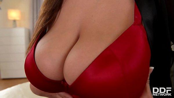 Pierced Busty Spanish Goddess Sandra Milka Titty Fucked Balls Deep On Bed